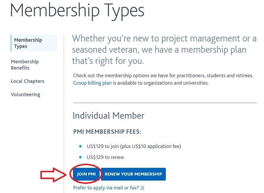 عضویت عادی در PMI | تهران کردیت کارت