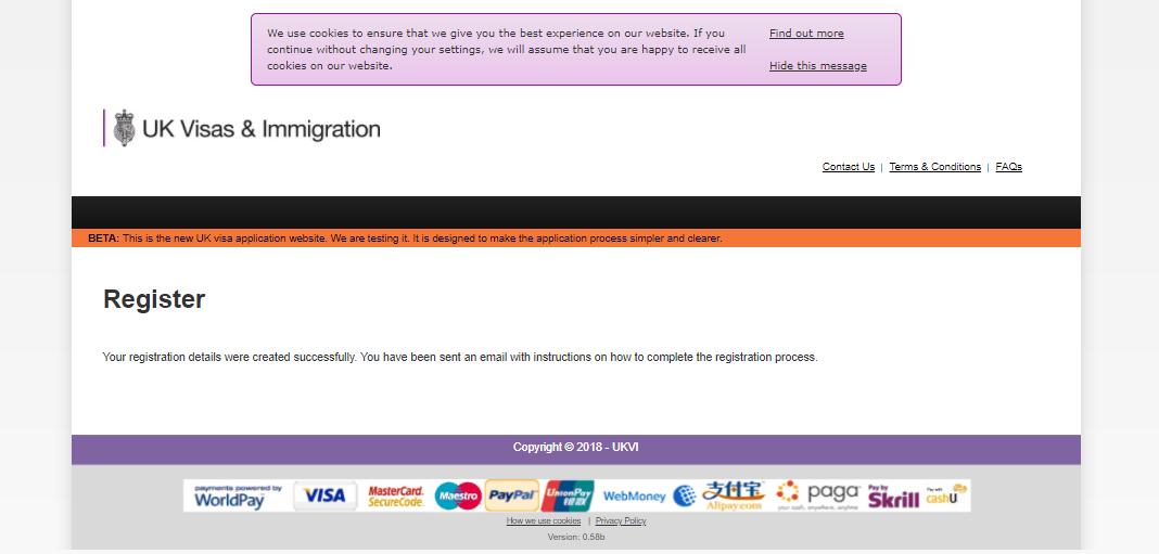 پرداخت هزینه ویزای انگلیس با ویزا کارت | تهران کردیت کارت