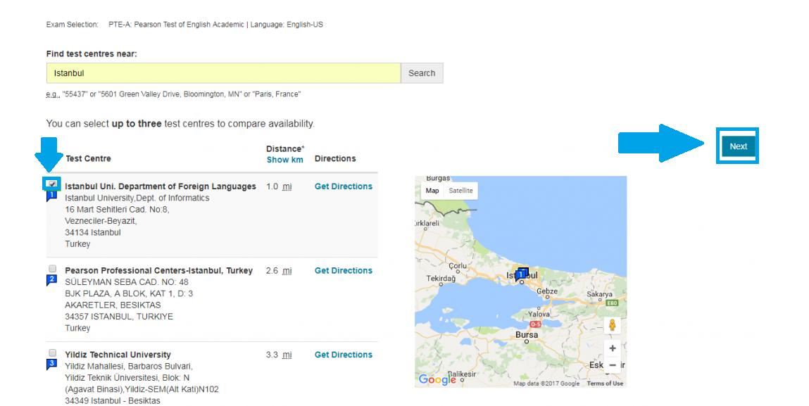 آزمون زبان PTE ترکیه | تهران کردیت کارت