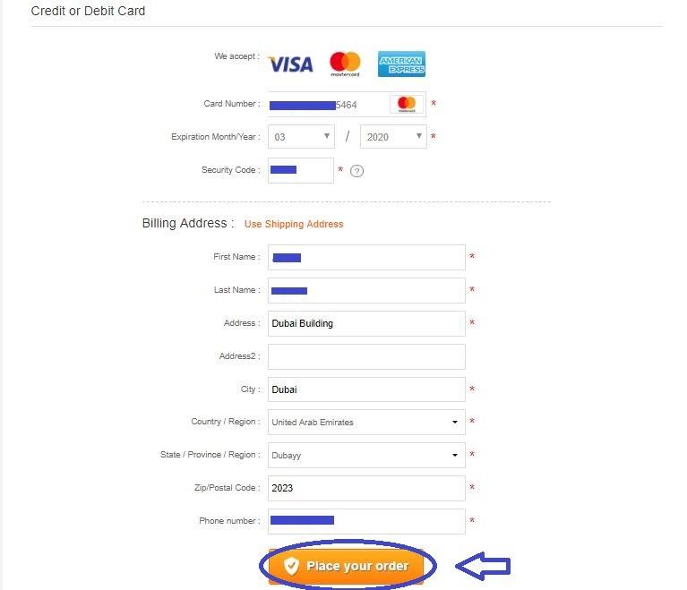 پرداخت هزینه خرید کالا با مستر ویزا کارت | تهران کردیت کارت