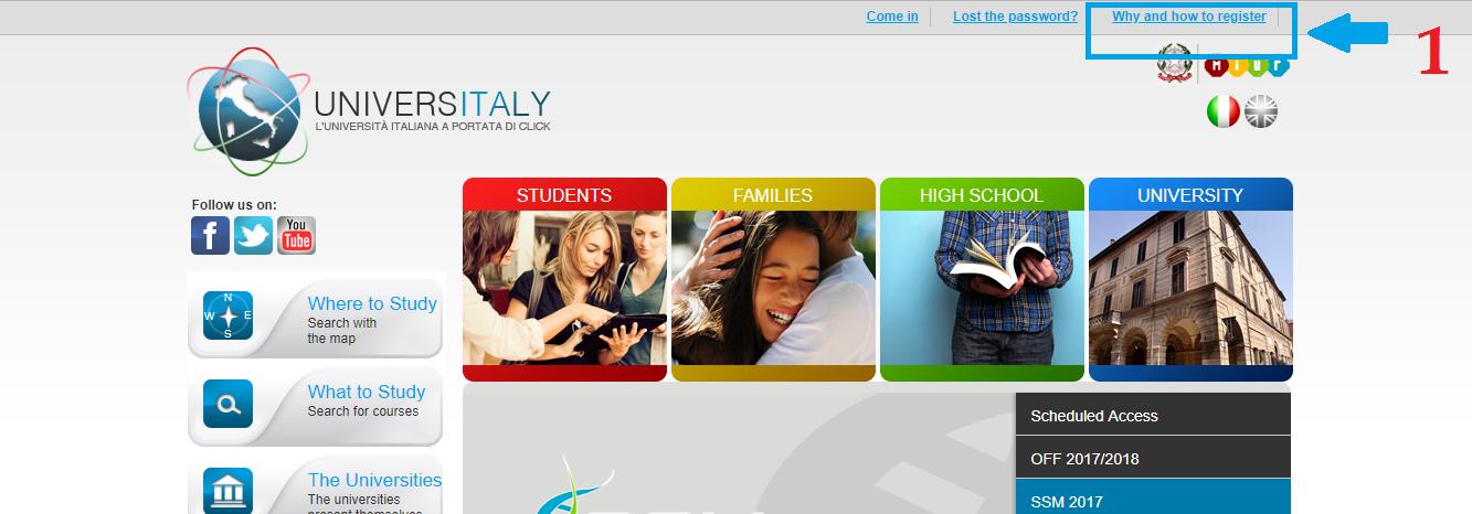 ثبت نام آزمون آی مت ایتالیا | تهران کردیت کارت