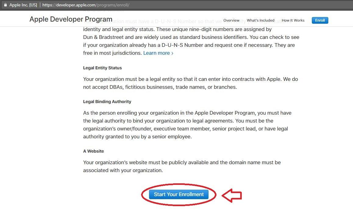 پرداخت اکانت Apple Developer | تهران کردیت کارت