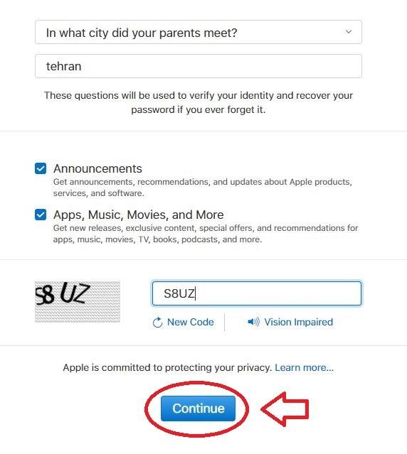 اپل آی دی و دولوپر | تهران کردیت کارت