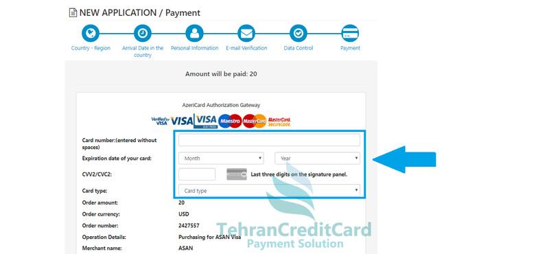 چگونه ویزای الکترونیکی آذربایجان بگیریم | تهران کردیت کارت