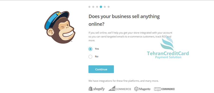 پرداخت وبسایت ایمیل انبوه | تهران کردیت کارت