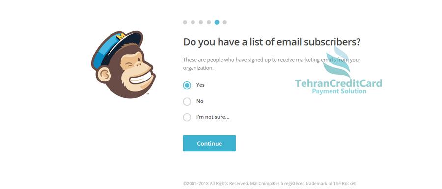 ایمیل تبلیغاتی | تهران کردیت کارت