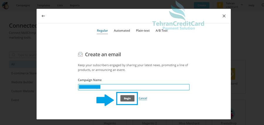 سایت ارسال ایمیل انبوه رایگان | تهران کردیت کارت