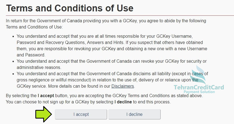 پرداخت ویزای مسافرتی کانادا | تهران کردیت کارت