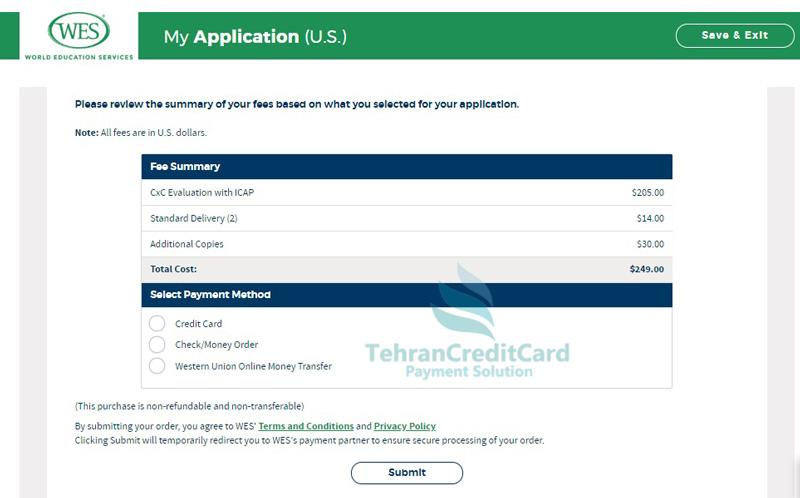 پرداخت ارزیابی مدارک اسکیل ورکر