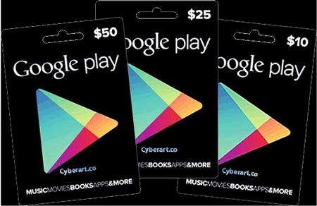 خرید گیفت گوگل پلی | تهران کردیت کارت