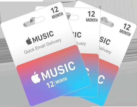 خرید گیفت کارت اپل موزیک | تهران کردیت کارت