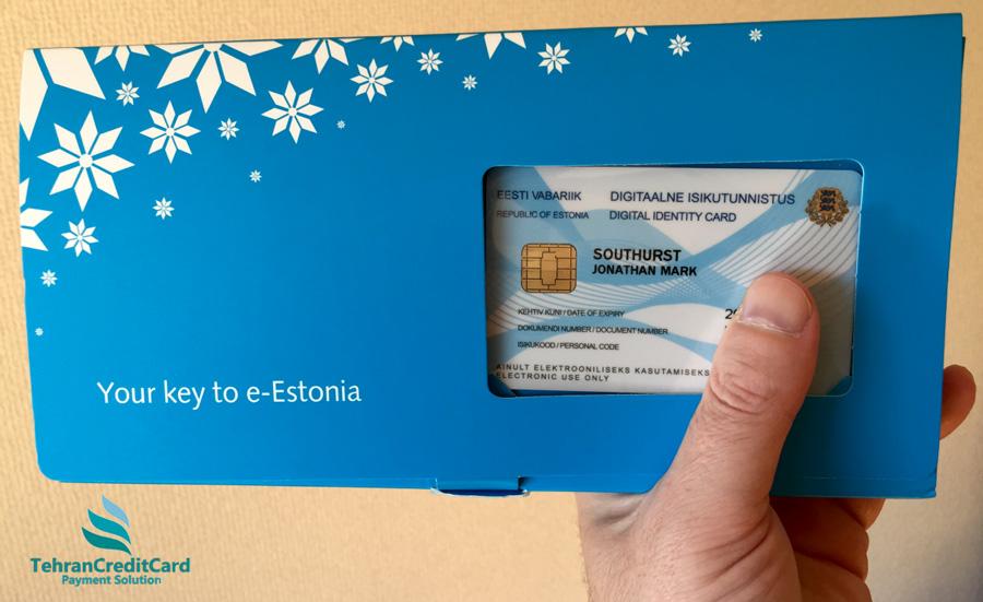پرداخت اقامت استونی | تهران کردیت کارت