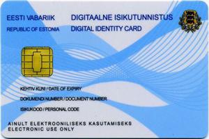 دریافت اقامت الکترونیکی استونی