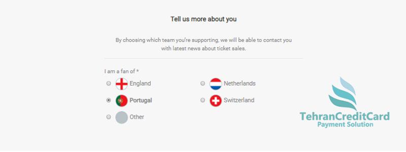 خرید آنلاین بلیط چامپیون لیگ | تهران کردیت کارت
