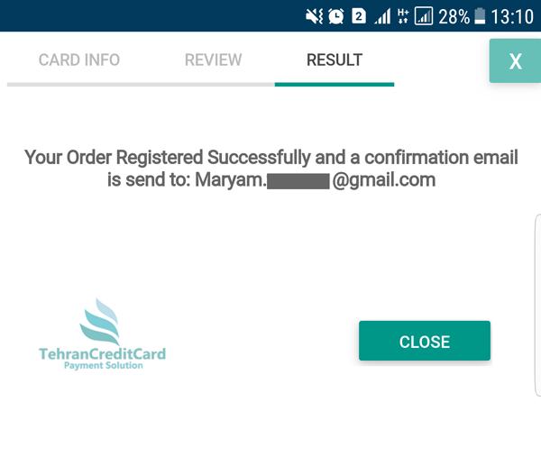 صدور کارت مجازی از ولت Wallet | تهران کردیت کارت