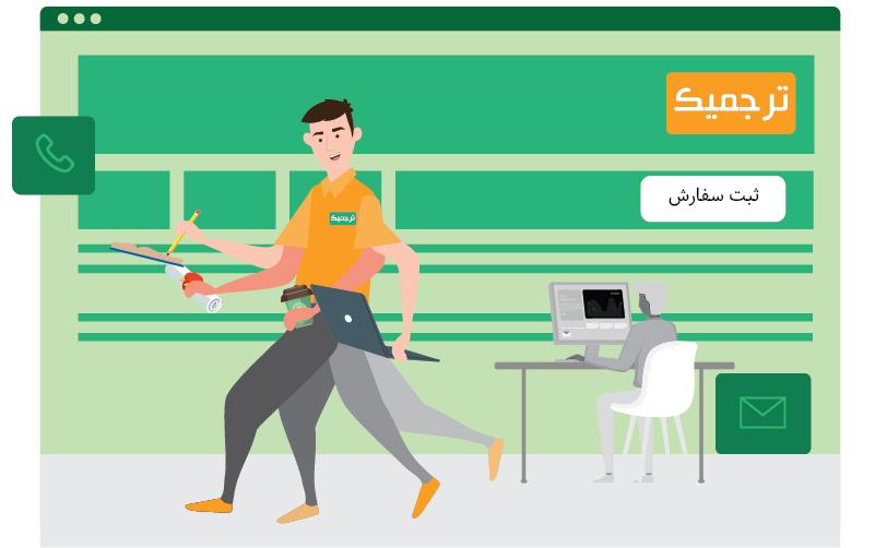 ترجمه فوری با ترجمیک | تهران کردیت کارت